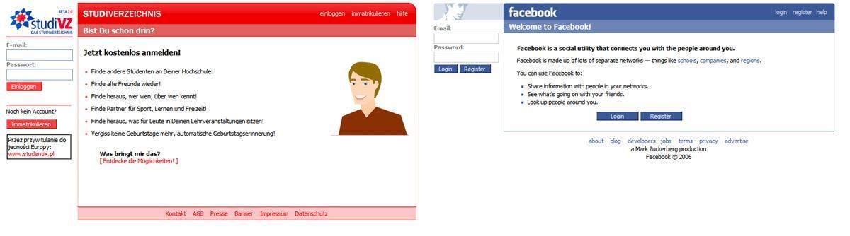 Facebook statt Studivz
